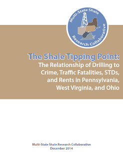 The Shale Tipping Point: The Relationship of Drilling to Crime, Traffic Fatalities, STDS, and Rents in Pennsylvania, West Virginia, and Ohio