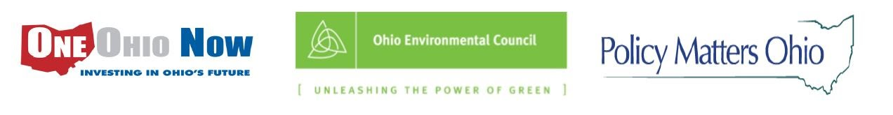 One Ohio Now, Ohio Environmental Council, Policy Matters Ohio